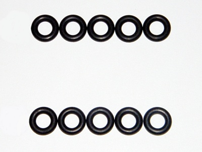 FIAT INJECTOR SEALS O-RINGS COUPE 2.0 20VT TURBO 2.0L BOSCH 0280150 0280155 0280156
